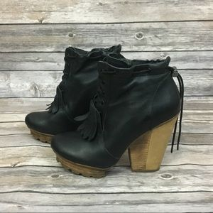 Timo Weiland For Tsubo Royse Black Booties